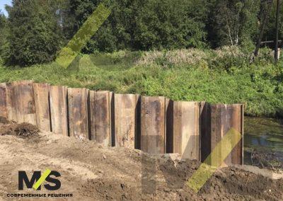 Шпунт ларсена Берегоукрепление СНТ Пластполимер 1